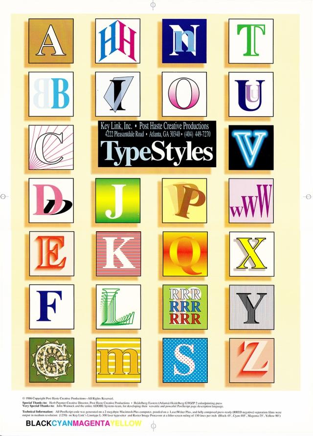 TypeStyles PosterSml