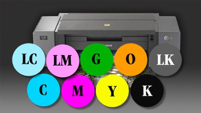 9-Color inkjet