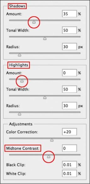 Shadows-Highlights