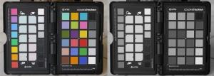 Color vs Monochrome ColorChecker Captures