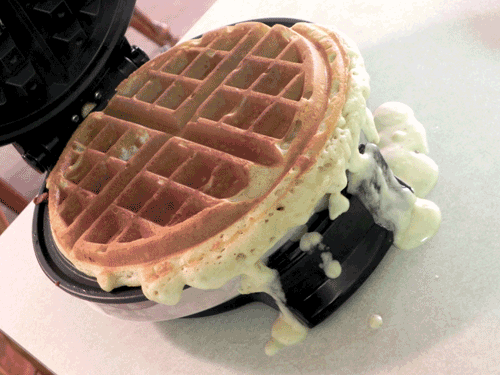 Sloppy-Waffles